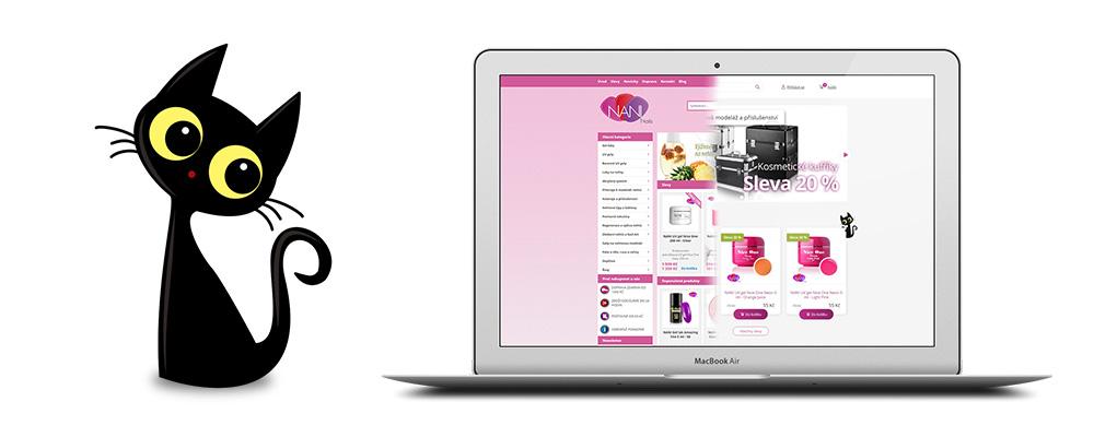 NaniNails, e-shop rychlý jako schnoucí lak